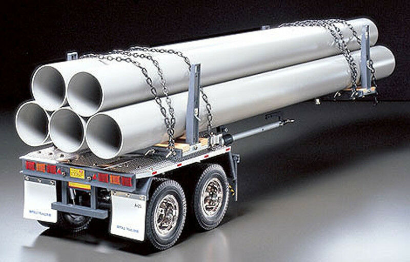 Tamiya 1 14 Pole Semi Trailer Kit TAM56310