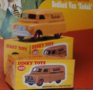 1-43-Collezione-Dinky-Toys-Bedford-10-cwt-Kodak