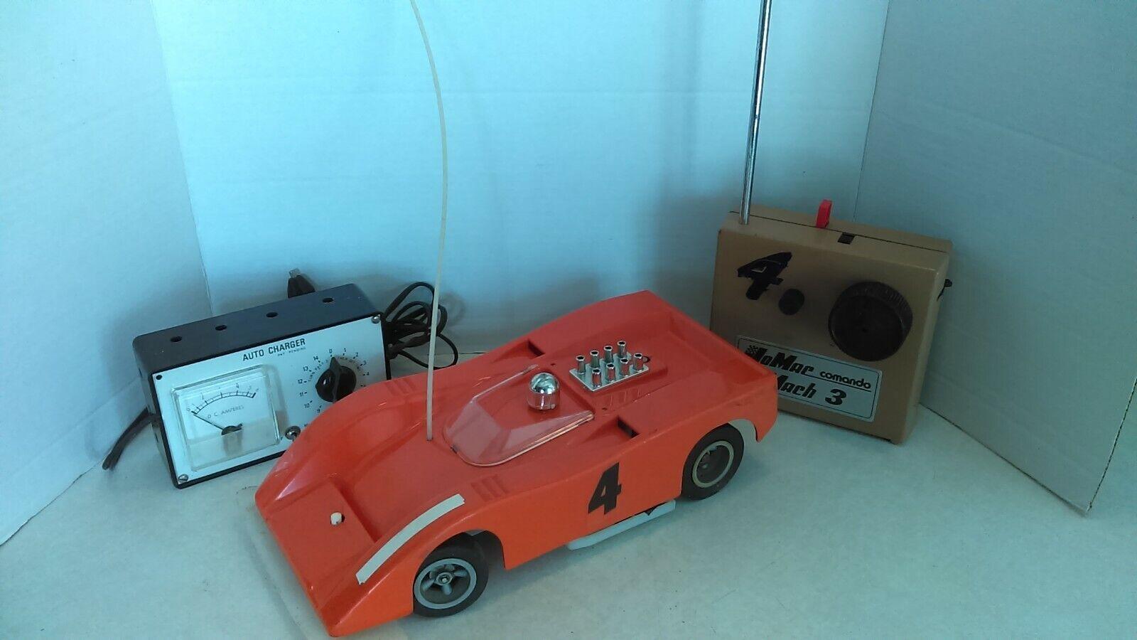 Vintage 70's  Jerobee 1 12 RC Electric arancia McLaren With Transmitter & Charger  negozio fa acquisti e vendite