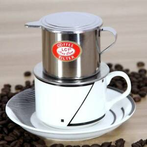 Vietnamese Coffee Filter Stainless Steel Maker Pot Infuse Cup Serving Delicious Ebay