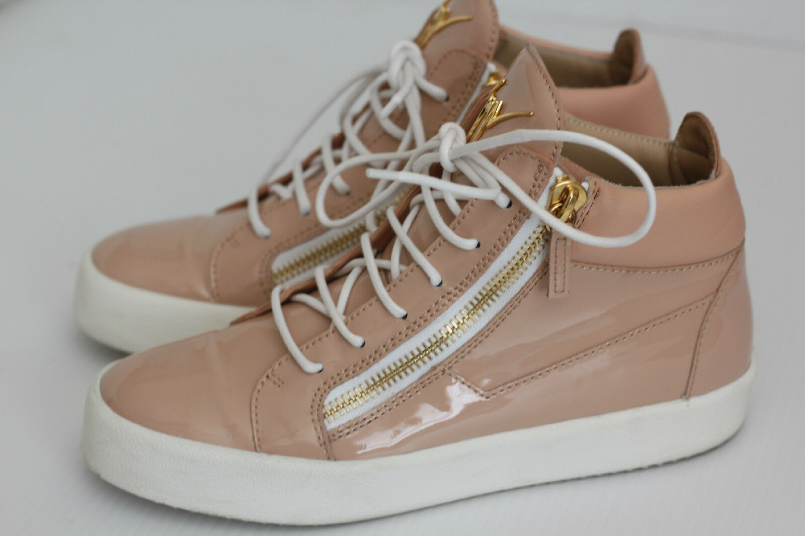 Giuseppe Zanotti May May May London High Top scarpe da ginnastica - Blush Patent Leather - 10US (X23) 1973a0