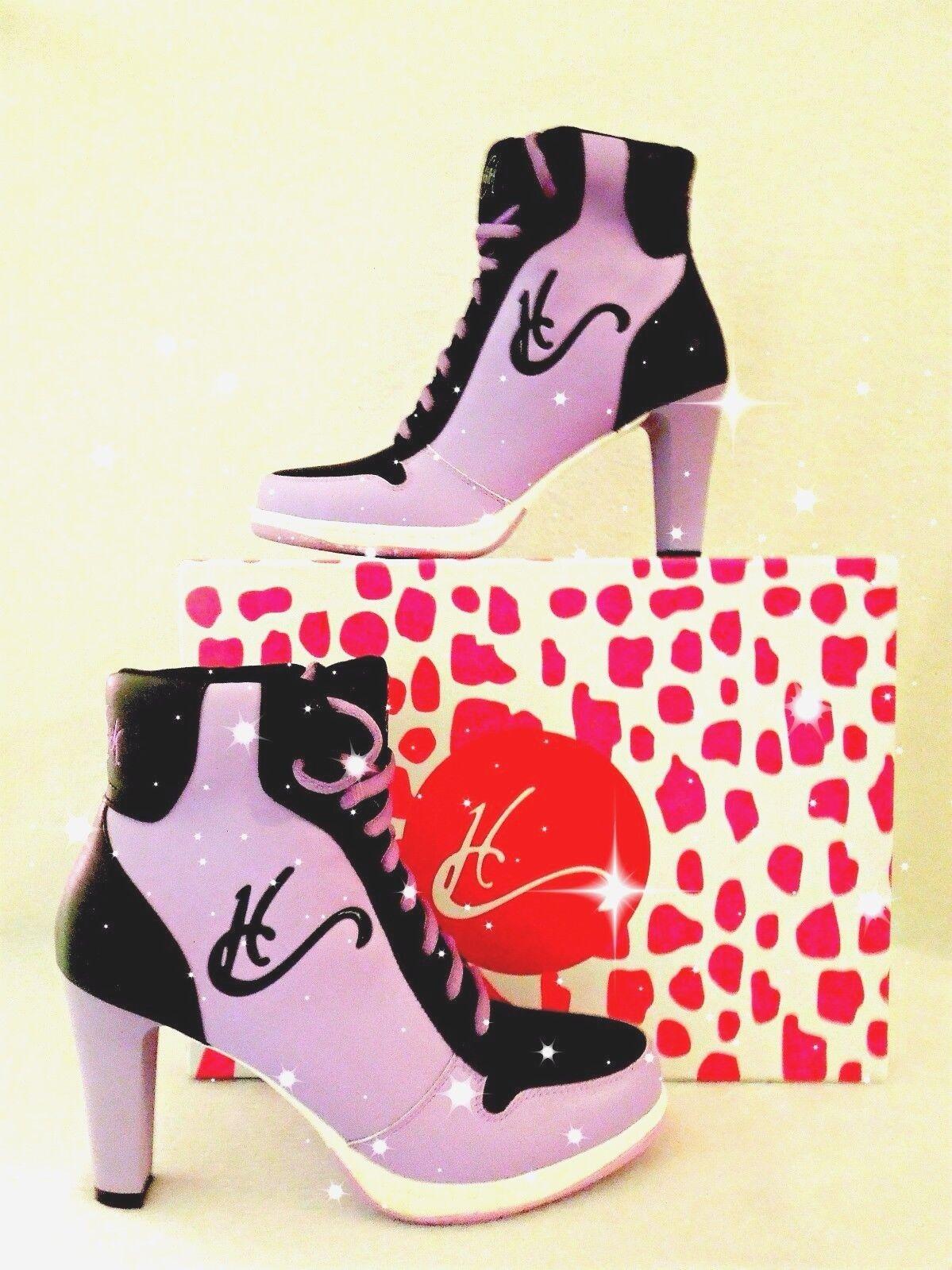 Zapatillas para Mujer Taco Alto Lavanda, Hermosa Hermosa Hermosa Calidad impresionante comodidad, CA-001  gran selección y entrega rápida