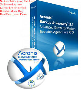 acronis backup & recovery 11.5 advanced server 破解