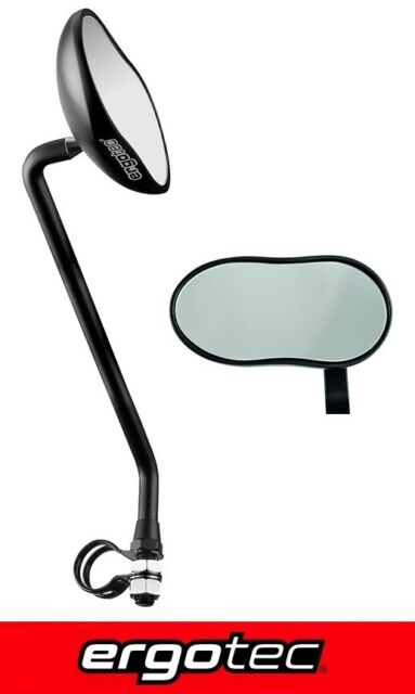 Linksmontage schwarz Fahrrad Humpert Fahrradspiegel M 89L Alu