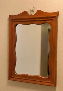 Vintage-Eagle-Mirror-Ma-Leck-Woodcrafts-WingateNC-Colonial-Early-American-Style