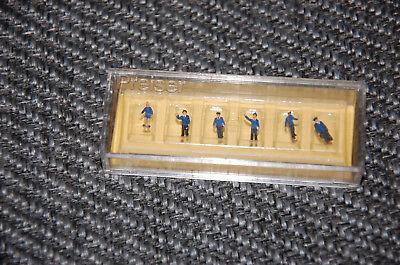 Preiser Z 8510-agenti Ferroviari - 6 Personaggi-e - 6 Figuren It-it Mostra Il Titolo Originale