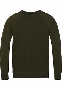 du Basic Soda Ras Vert 142800 cou Sweat 0679 Army Scotch Homme Mélange qBw1T5IWI6