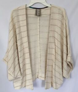 9195d91efd98da Image is loading Dolan-Left-Coast-Collection-Beige-Cream-Kimono-Cardigan-