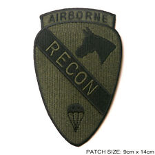 "1st CAVALRY DIVISION ""RECON AIRBORNE"" Embroidered Iron-On Patch QUALITY - #8M15"