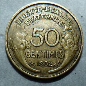 50-centimes-Morlon-1932-SUP-piece-de-monnaie-francaise