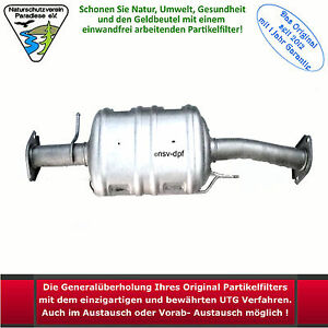 Einbaubestätigung für DPF Diesel Partikelfilter alle Hersteller universal NEU