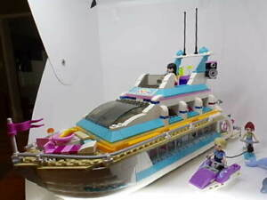 LEGO Friends Dolphin Cruiser Boat Ship 100% COMPLETE with ...