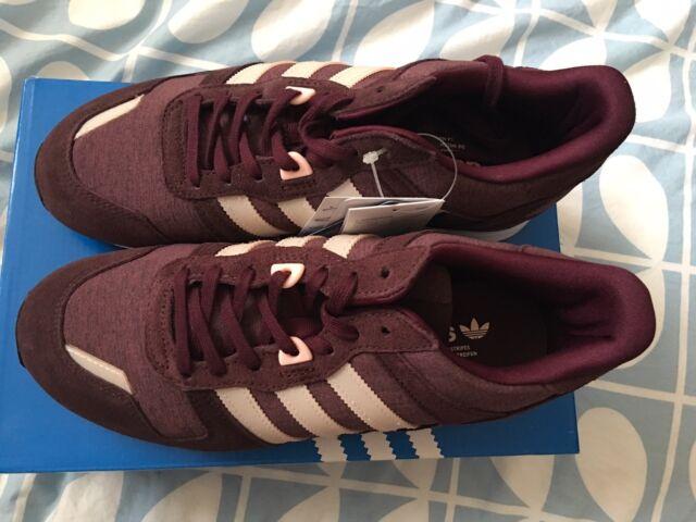 new product b9cbb 9beba Adidas Oringnals ZX 700 Burgundy Trainers Size Uk 6 BNIB