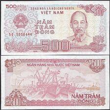 Item 3 Vietnam Viet Nam 500 Dong Currency 1988 P 101a Unc