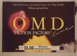 OMD-Orchestral-Manoeuvres-in-the-dark-Tour-1984-Original-Concert-poster