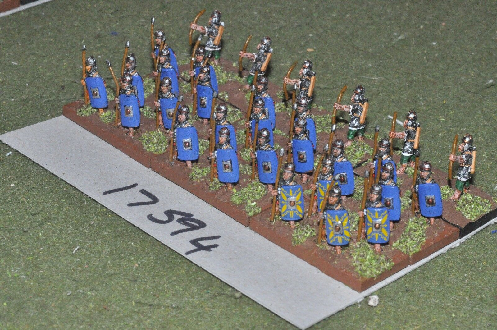 los clientes primero 15mm época Romana Romana-Auxiliar infantería 30 30 30 higos-INF (17594)  respuestas rápidas