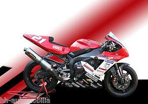 Yamaha-Rennmotorrad-DINA4-Poster-Foto-Motorrad-Rennmaschine-race-motorcycle-1
