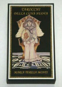 Tarocchi-Della-Luna-Nuova-New-Moon-Tarot-Maria-Teresa-Monti-VERY-RARE-Mint