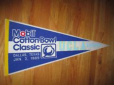 """Mobil COTTON BOWL CLASSIC (Jan 2, 1989) UCLA BRUINS vs RAZORBACKS 30"""" Pennant"""