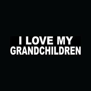 I-LOVE-MY-GRANDCHILDREN-Sticker-Car-Window-Vinyl-Decal-Kids-Parents-Family-Cute