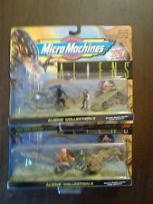 ALIENS COLLECTION 2 & 3 MICRO MACHINES 74848 GALOOB  NIP 1996 LOT OF 2