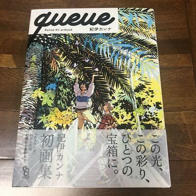 queue Kanna Kii Art Book Umibe no Etransee by the Sea Japan