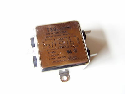1 St. EMI Filter 10BA1, 250VAC/10A (Lagerf. M246)!!