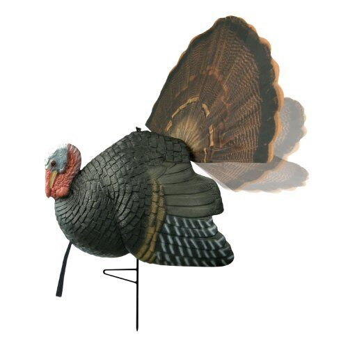 Turkey Decoy Strutting Gobbler Gobbler Strutting Jake Tom Adjust Tail With Pull of String DVD NEW a872c5
