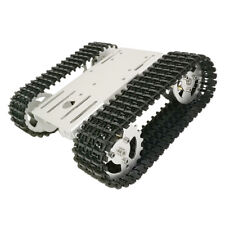 Obstacle Avoidance Smart Robot Tank Kit Rc Tracked Car With Code Wheel