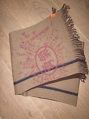 """hugo Boss"" Orange Asia Label Schal Braun *neu"