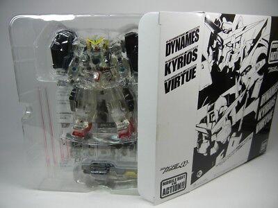 "/"" Figure Bandai MSIA Books Limited Gundam OO /"" GN-005 GUNDAM VIRTUE Clear ver"