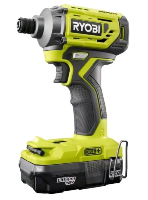 New Ryobi P239 1 4 Brushless Cordless Impact Driver With P102 Battery Bit Clip For Online