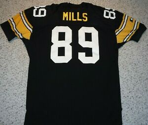 1995-PITTSBURGH-STEELERS-AUTHENTIC-JERSEY-ERNIE-MILLS-STARTER-JERSEY-TAGGED-96