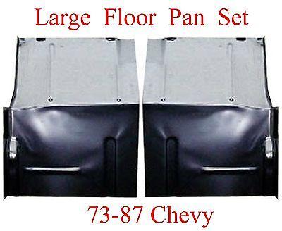 Suburban Blazer Jimmy 73 87 Floor Pan Set W Backing Plate Fits Chevy GMC Truck