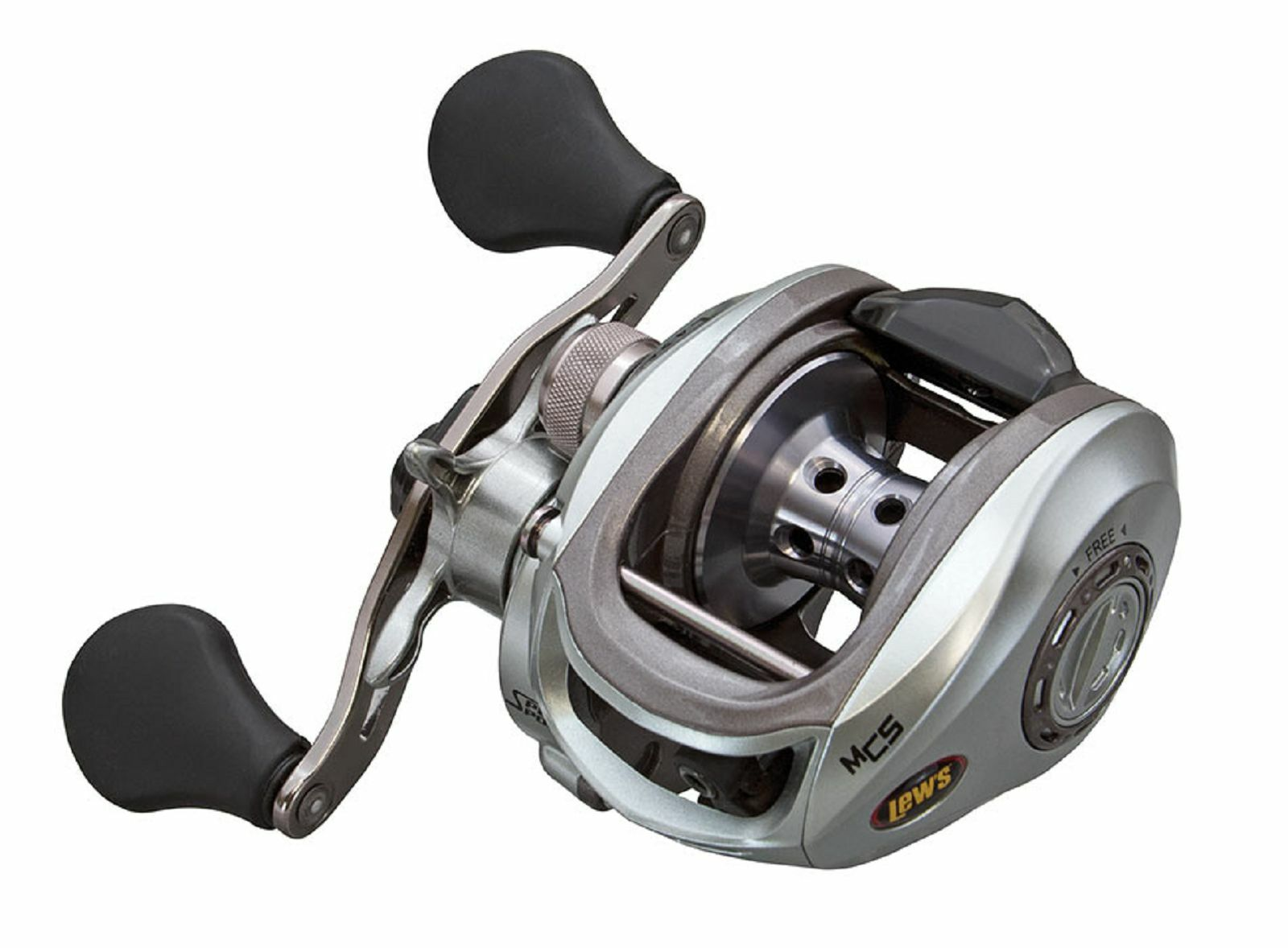 LEW'S LASER MG SPEED SPOOL BAITCAST REEL LSG1HMG RIGHT HANDED RECONDITIONED
