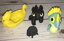 How to Train Your Dragon Bath Toys Toothless Stormfly Viking Ship Black Sheep