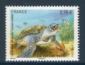 TIMBRE-4903-NEUF-XX-LUXE-TORTUE-VERTE-CHELONIA-MYDAS-EMISSION-CONJOINTE