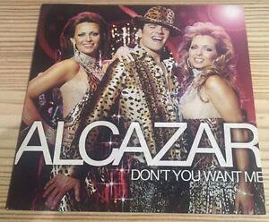 Alcazar-Don-039-t-You-Want-Me-RARE-cardsleeve-Near-Mint-CD-Single-FAST-UK-POST