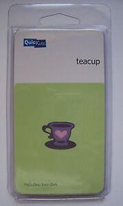 Quickutz TEACUP Tea Cup KS0151 Home Garden Kitchen Party  RARE Set of 2 Dies - <span itemprop=availableAtOrFrom>Bristol, United Kingdom</span> - I will accept returns. Please contact me beforehand to discuss details. Buyer must pay the return postage. For your own security please send any returns with Certificate of Posting (which - Bristol, United Kingdom