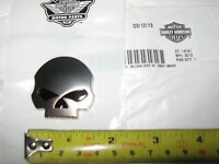 Hd Harley Davidson Willie Skull Medallion Emblem 2013 Cvo Road Glide