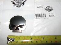 Hd Harley Davidson Willie Skull Emblem Medallion 2013 Cvo Road Glide
