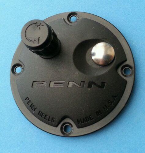 """Penn 535 Mag /'Knobby /""""plaque latérale Nouveau NEUF /& COMPLET avec clicker Assemblée"""