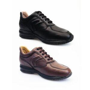 Respira Uomo Stringhe U4356h Scarpe Happy Pelle Geox Sneakers Y6yfb7gv