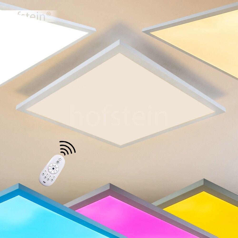 Design Deckenleuchte LED Farbwechsler Lampen Wohn Zimmer Leuchten Fernbedienung