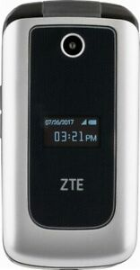 ZTE-Cymbal-4G-LTE-Verizon-Prepaid-Cell-Phone-Silver-Brand-New