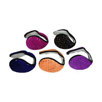 Fleece Ear Muff Solid Color Unisex Ear Warmers One Size Sparkly Style Muffs
