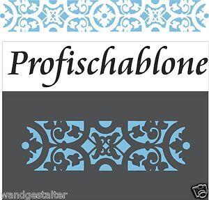 Wandschablone-Stupfschablone-Malerschablone-Wandschablonen-Mittelalter