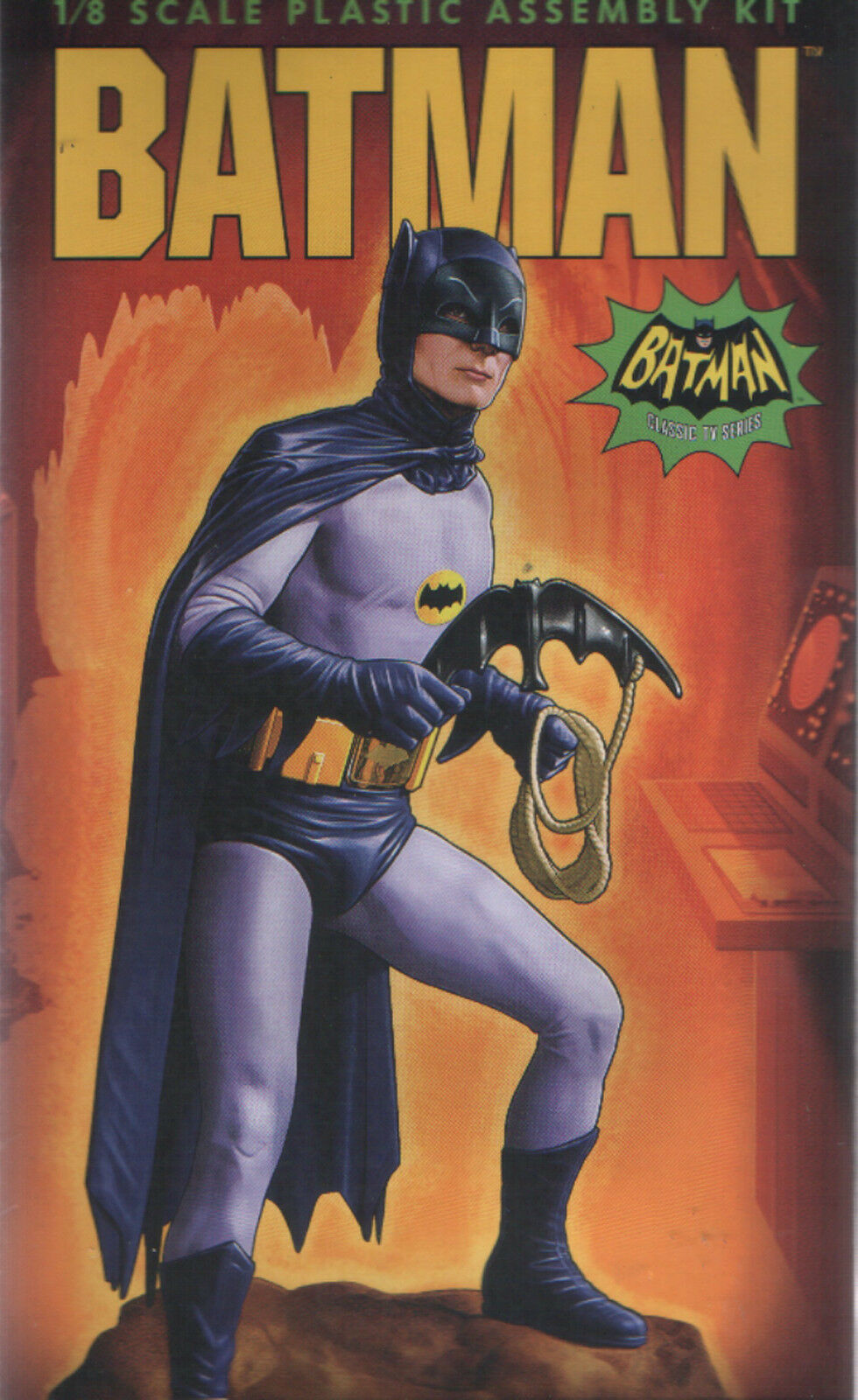 Moebius Batman TV Series Batman Figure Model Construction Kit Adam West 1 8
