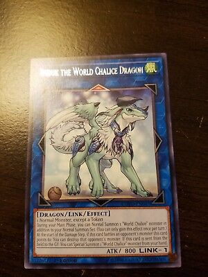 Imduk the World Chalice Dragon *Rare* COTD-EN004 1st Edition NM