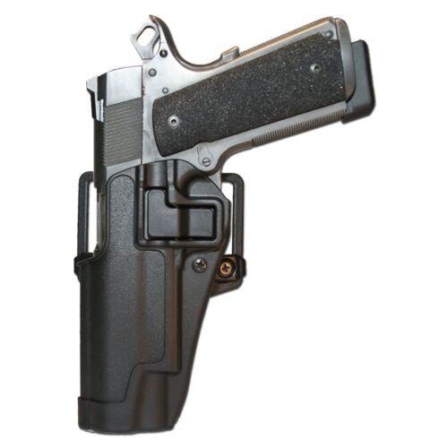 Funda Blackhawk CQC negra Colt 1911 LH